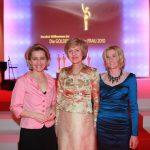 Arbeitsministerin Ursula von der Leyen, Verlegerin Friede Springer und BILDder FRAU Chefredakteurin Sandra Immoor.