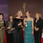 Die Preisträgerinnen Iris Alberts, Marion Hammerl, Ute Nerge, Johanna Richter und Antje Schmidt-Kloth.