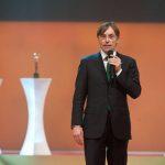 Axel-Springer-Vorstand Dr. Andreas Wiele bei der Verleihung der GOLDENEN BILD der FRAU in Berlin