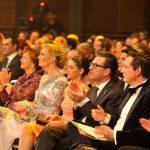 Preisträger, Laudatoren und Initiatoren – die erste Reihe bei der Gala in Berlin