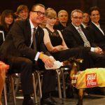 Der Charmoffensive der Ziege erlag auch BILD Chefredakteur Kai Diekmann