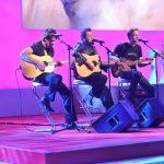 Sänger Laith Al-Deen mit Band