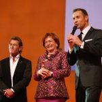 Peter Maffay, Preisträgerin Wera Röttgering und Kai Pflaume