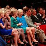 Blick in die erste Reihe des Publikums