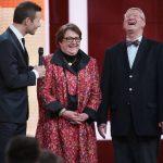 Angela Jacobi mit Dr. Eckart von Hirschhausen und Kai Pflaume