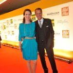Bianca Pohlmann mit Jochen Beckmann