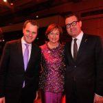 Unter Männern: Wera Röttgering mit Minister Daniel Bahr und BILD Chefredakteur Kai Diekmann (re)