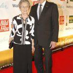 Der beliebte Rechtsexperte Wolfgang Büser kam in Begleitung seiner Ehefrau