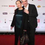 Schauspieler Heinrich Schafmeister mit Ehefrau Jutta