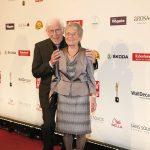 Rechtsexperte Wolfgang Büser mit Ehefrau