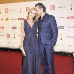 Schauspielerin Caroline Beil mit Philipp Sattler
