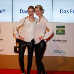 Die Zwillinge Julia und Nina Meise